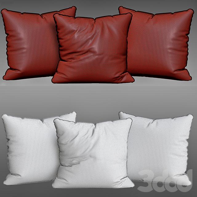 Tile Down Geometric Throw Pillow