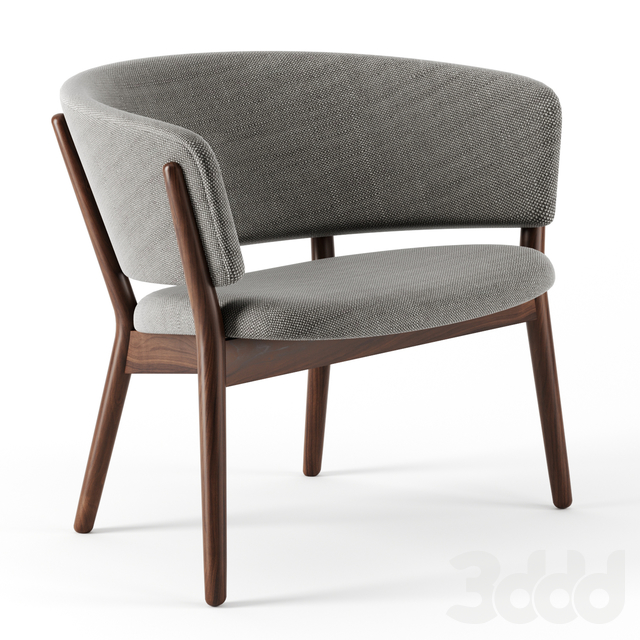 ND-01 Easy Chair 1952 (Nanna Ditzel) by Kitani