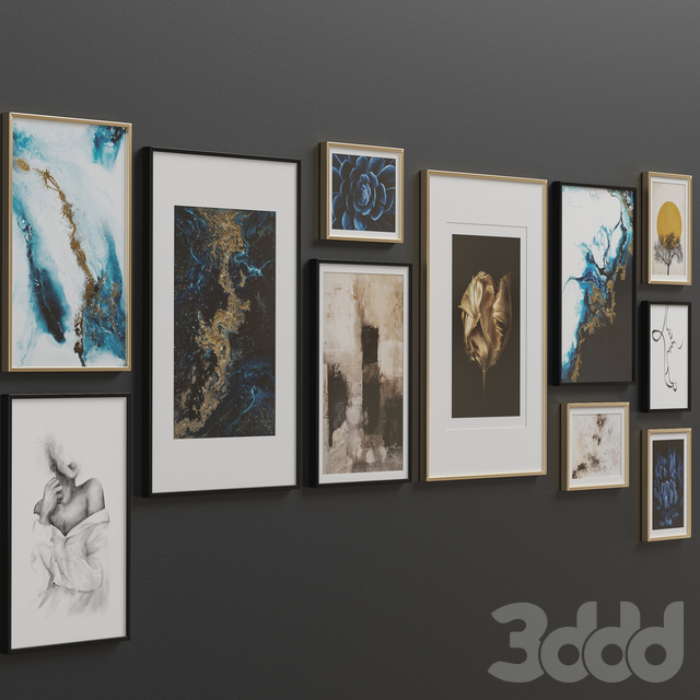 Interior Picture Frames Set-12