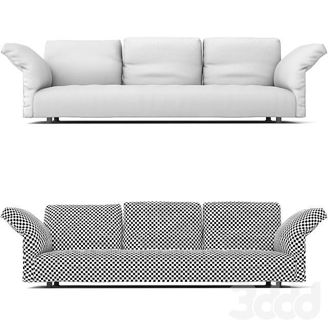 Edra Essential Sofa