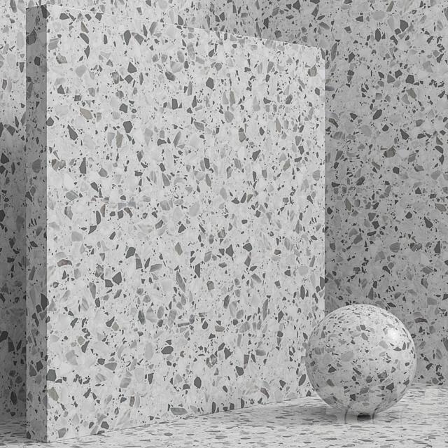 Материал (бесшовный) - камень, терраццо, кварцит set 143