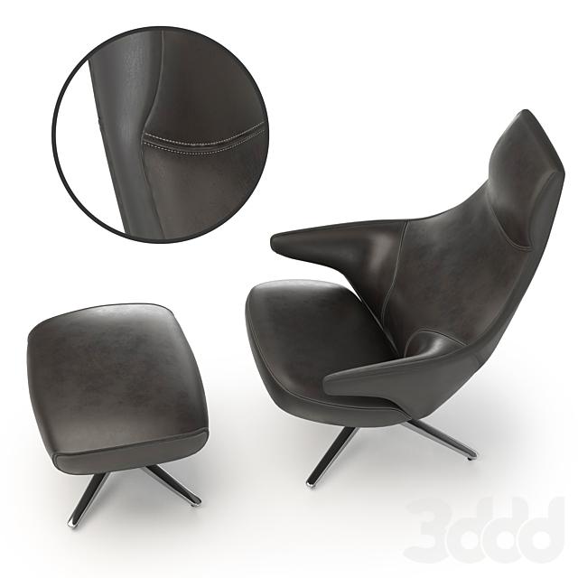 Armchair Poltrona Jay Lounge