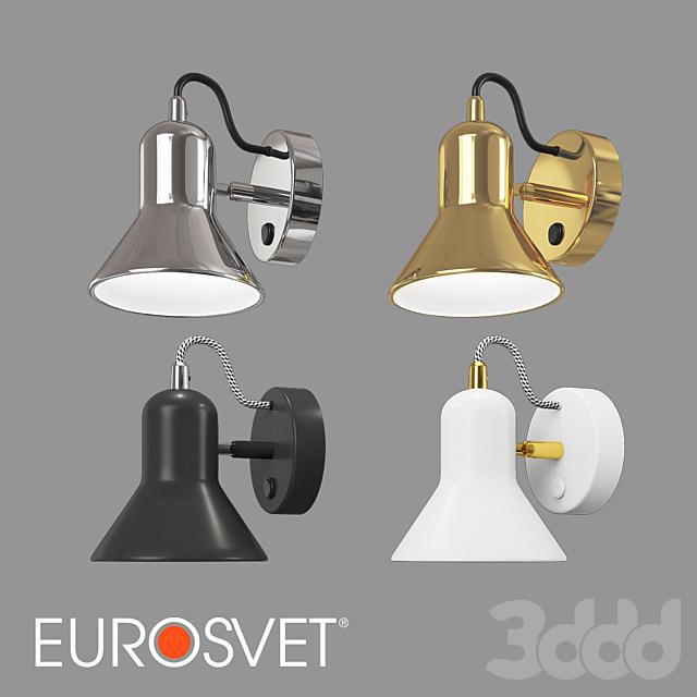 ОМ Настенный светильник Eurosvet 20082/1 и 20083/1 Canotier