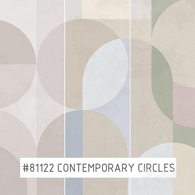 Creativille   Wallpapers   81122 Contemporary circles