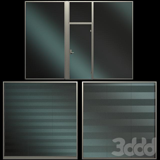 Стеклянная Перегородка / Glass Partition Wall