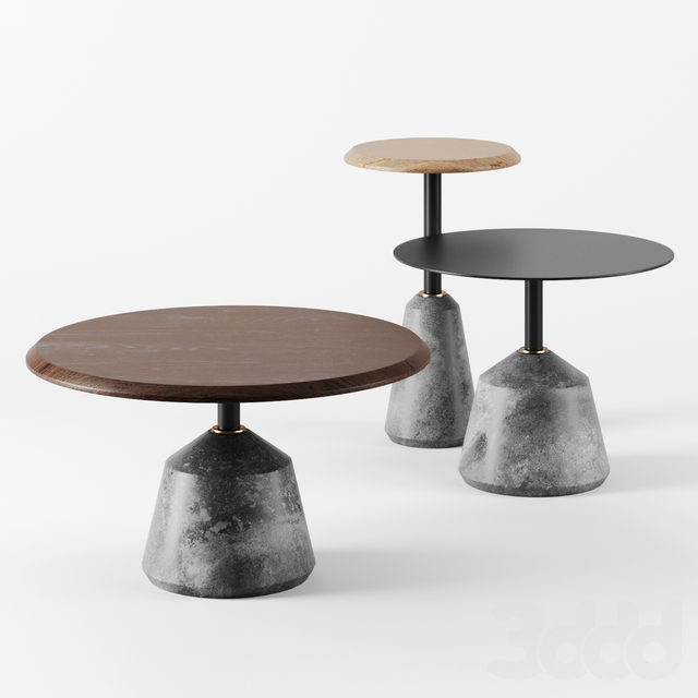 Exeter Side Tables by District Eight