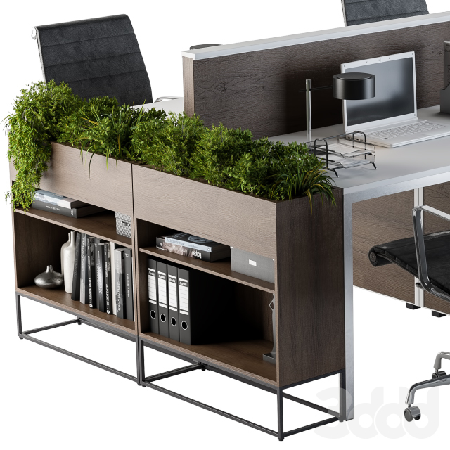 Office Furniture Flower Box 03