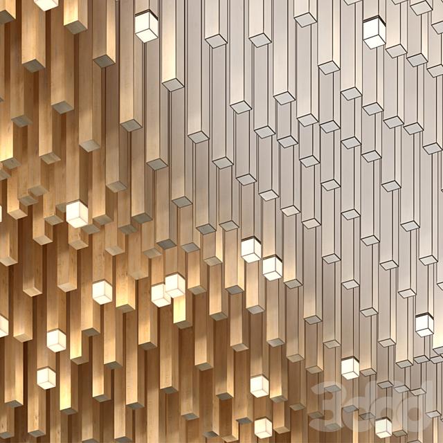 False wooden ceiling