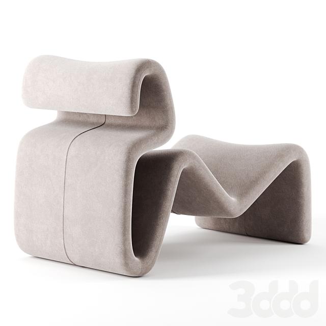 Etcetera lounge chair by Artilleriet