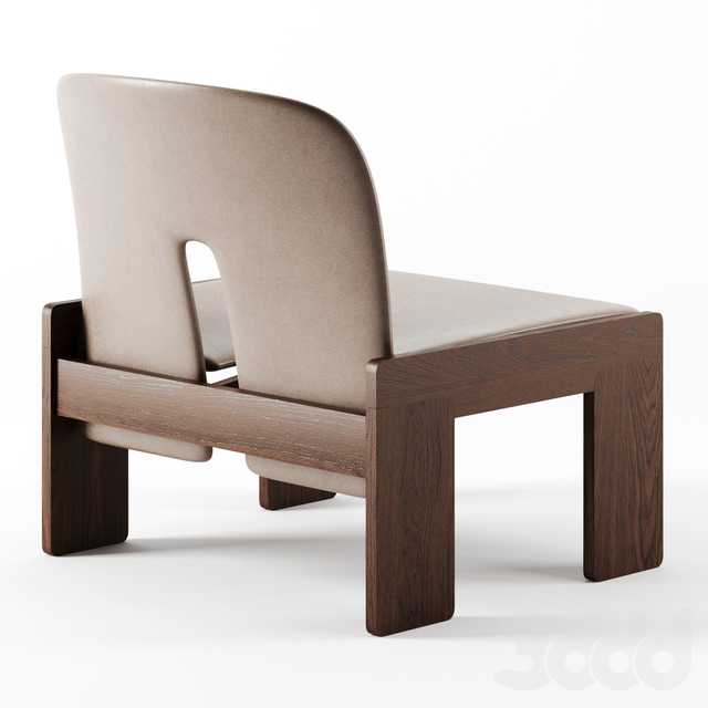 Model 925 Lounge Chairs by Afra and Tobia Scarpa