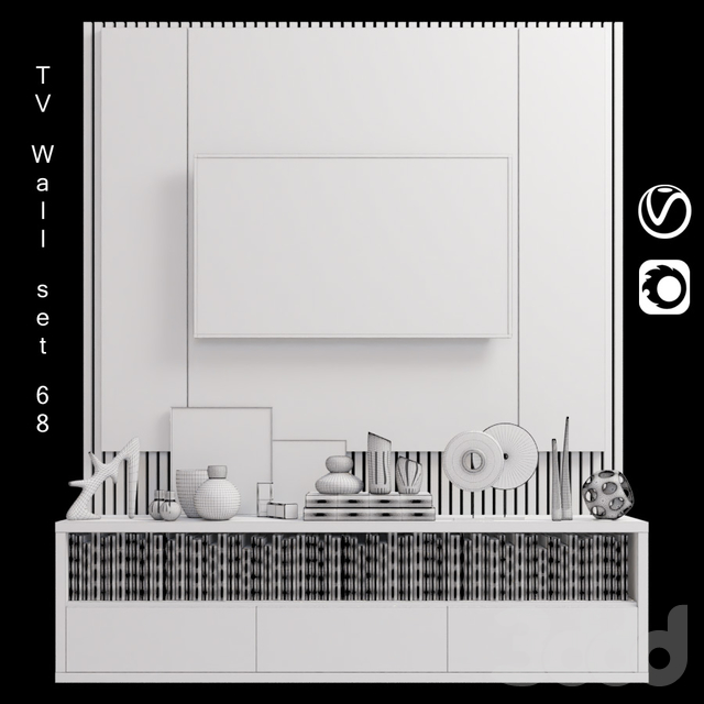 TV Wall | set 68