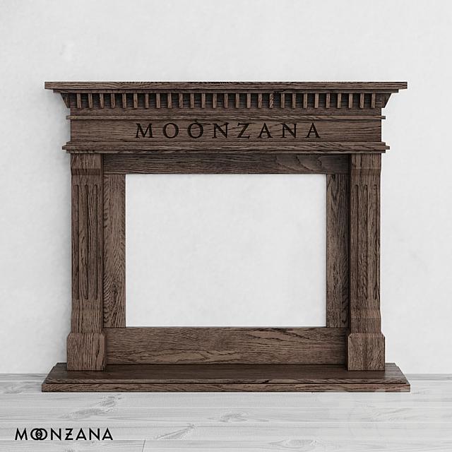 OM Каминный портал Метрополис Moonzana