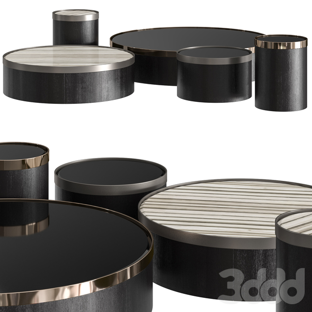 Minotti Bailly Coffee Tables