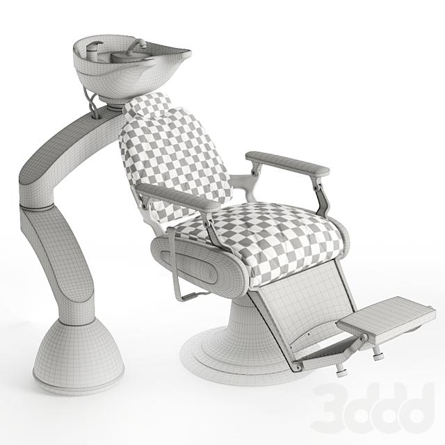 Мойка с креслом парикмахерская