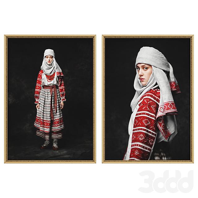 Украинские красавицы набор №1