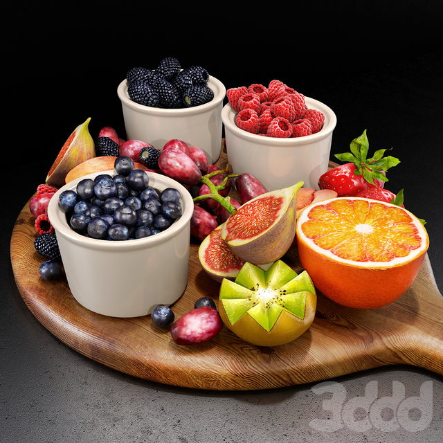Fruits set 02