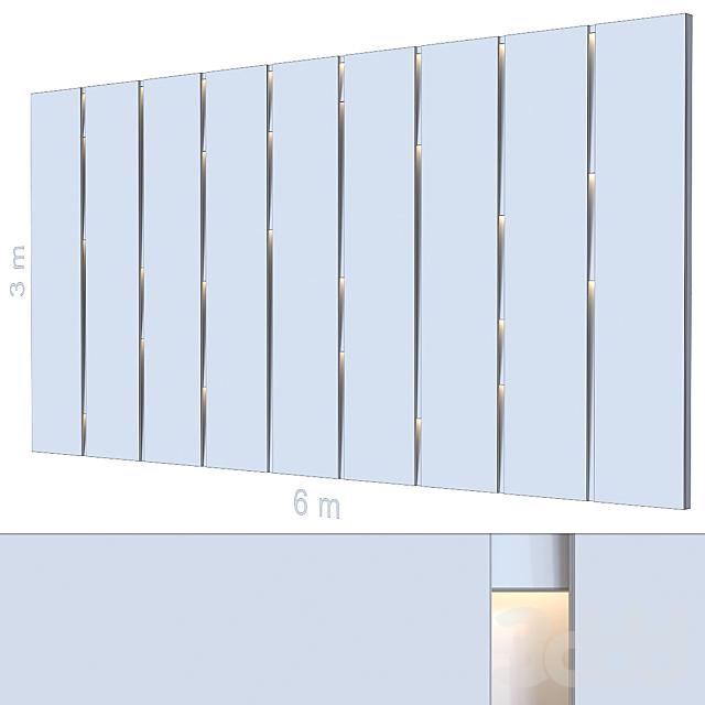 Декоративная стена 262.