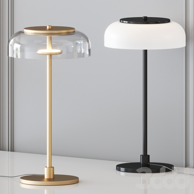 Blossi Table Black by Nuura