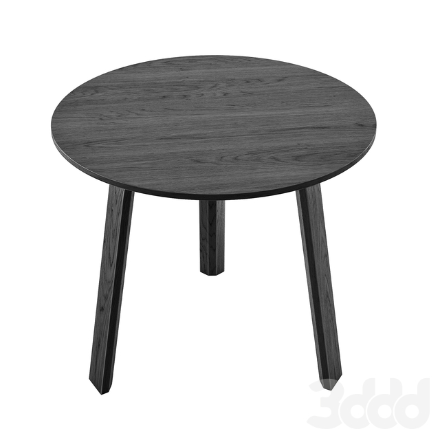 Hay Side Table Bella Black 450 mm