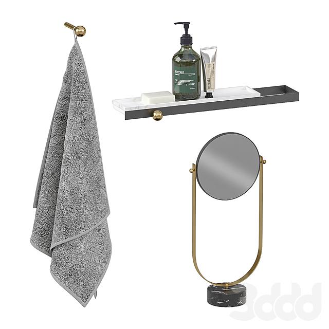 Ex.t Nouveau bath accessories