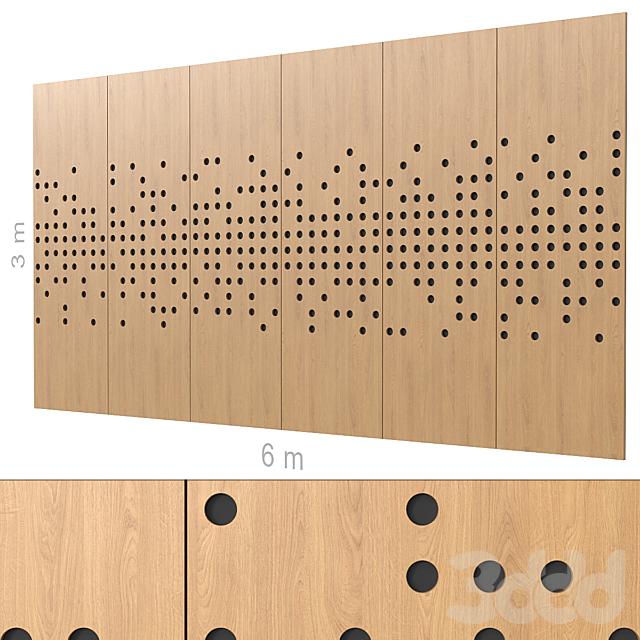 Декоративная стена 268. (4 варианта)