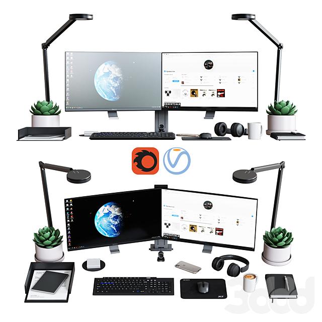 """Набор для рабочего стола и офиса """"классический офисный набор"""""""