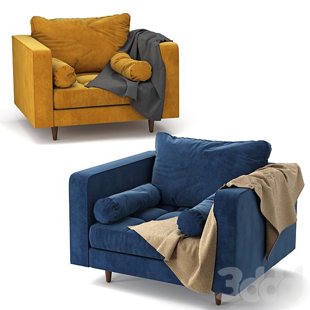 Sven Velvet Chair