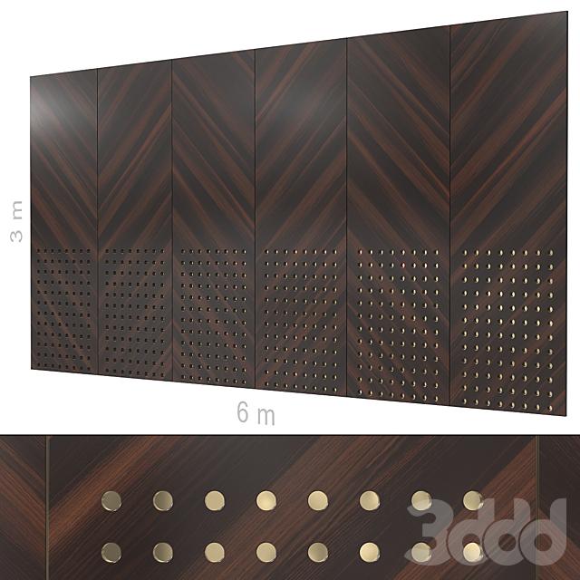 Декоративная стена 270. (4 материала)