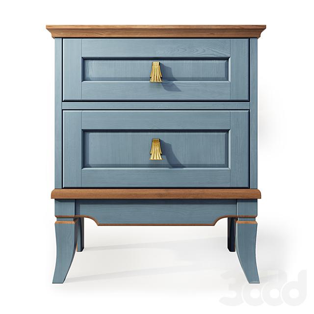 Комод и тумба прикроватная Тельма, Гомельдрев . Dresser, nightstand