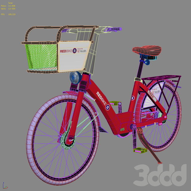 Велосипед Red Bike BCycle