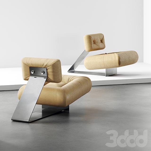 Кресло для отдыха Оскара Нимейера 1975