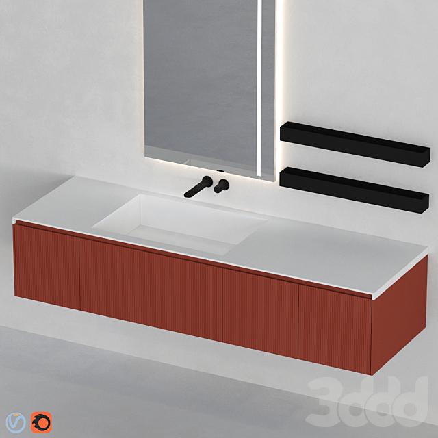Antonio Lupi bathroom set