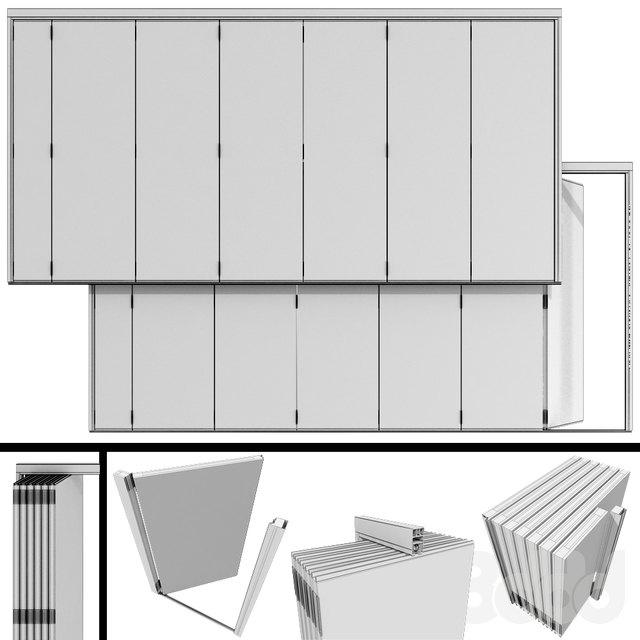 Раздвижные Перегородки / Sliding Partition Walls