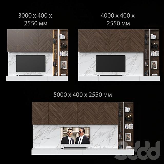 ТВ стенка 039. (3 размера)
