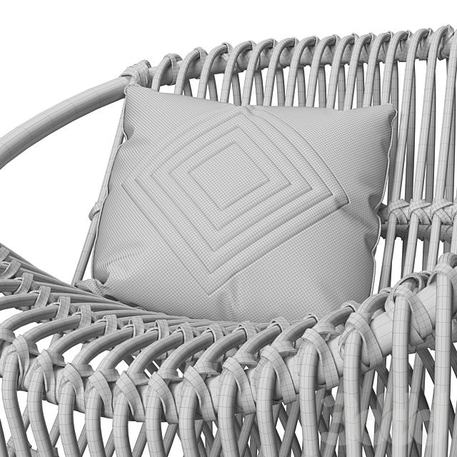 Arteriors Eleanor Lounge Chair