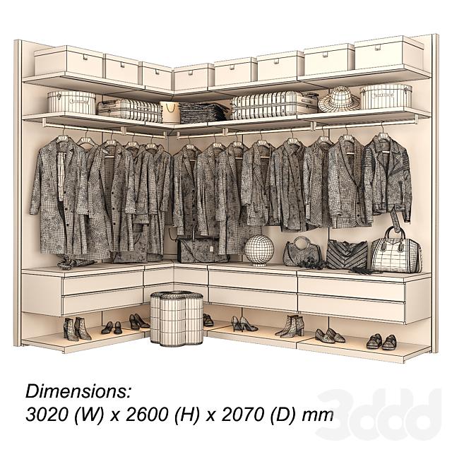 Walk-in Closet 98 part 6