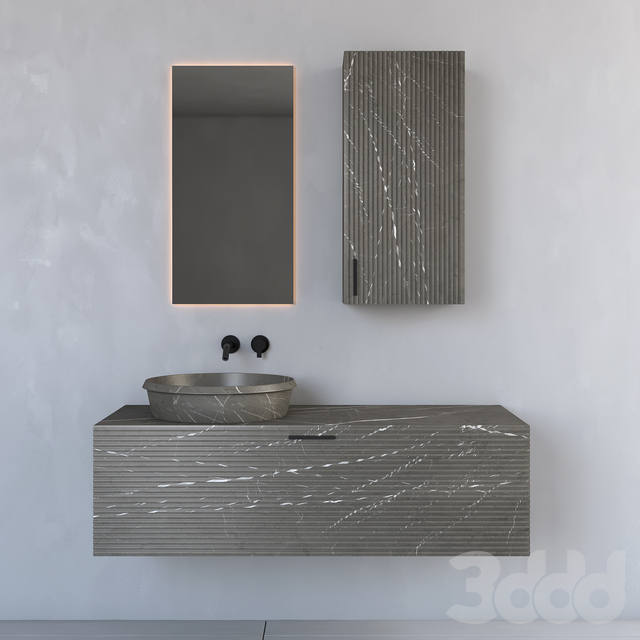 Modern Bathroom Cabinet | No. 091 Inbani