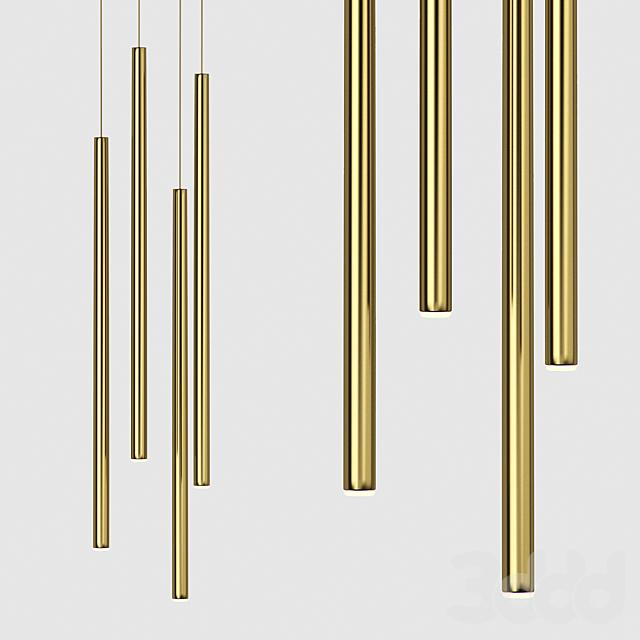 Подвесной светильник Slim One Brass от Forstlight