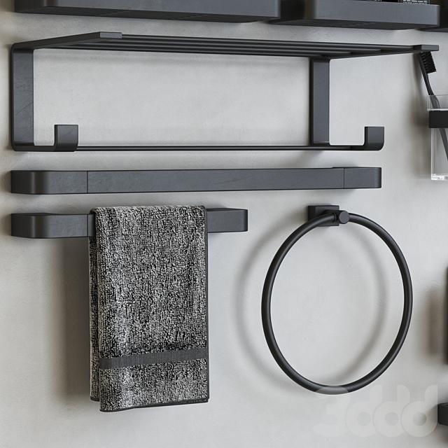 Outline bathroom accessories