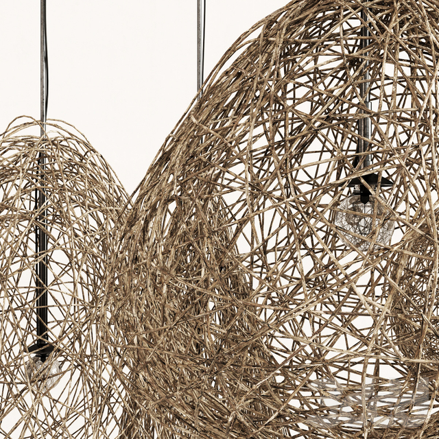 Branch dry decor lamp  n3 / Светильники из сухих веток