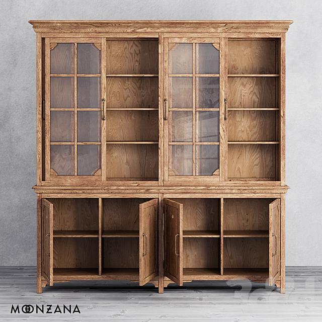 OM Библиотека Резидентал 4 секции Moonzana