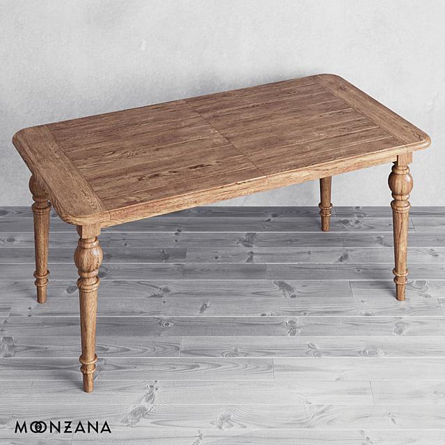 OM Раздвижной обеденный стол Резидентал Moonzana