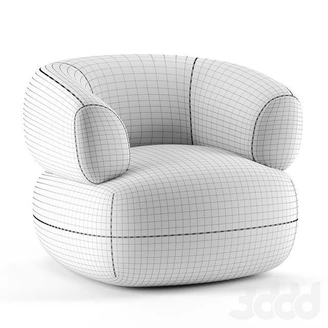 Puffer Chair by Moving Mountains