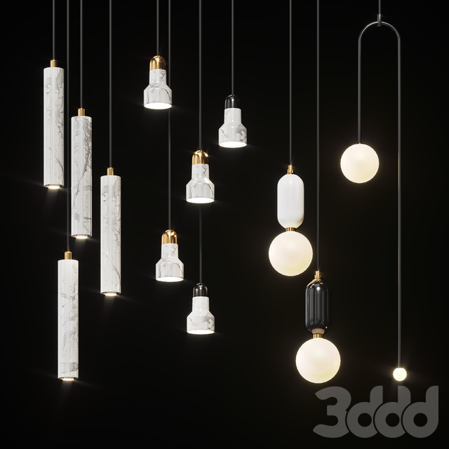 Collection of pendant lights Lampatron #2
