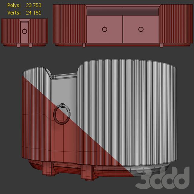 Комод и тумба прикроватная Dumas. Nightstand, sideboard by Deprimo