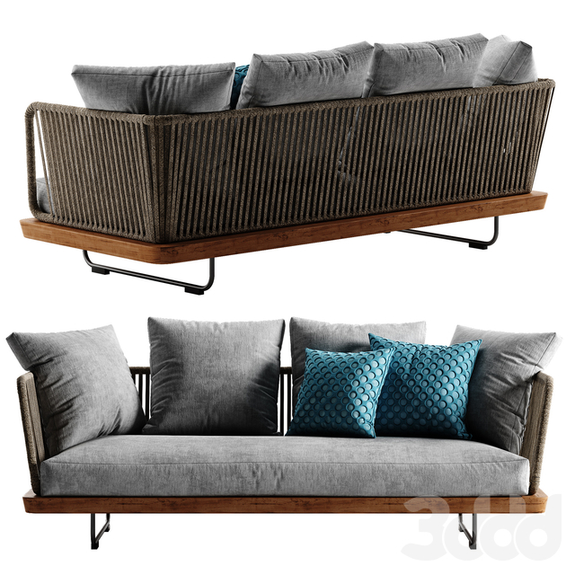Minotti Sunray sofa set 1