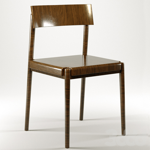old wooden table and chair