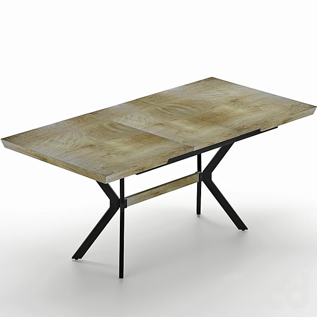 Раздвижной обеденный стол Jerome