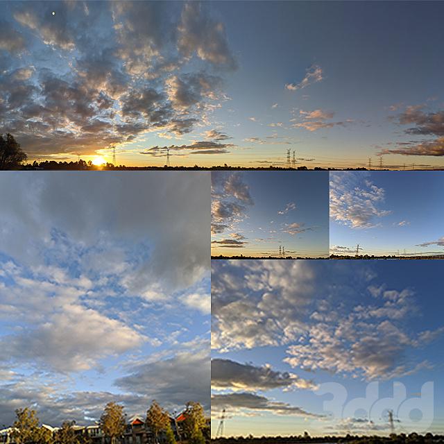Sunset sky version 1