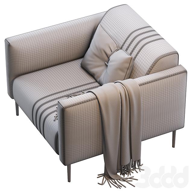 Кресло TUXEDO PNO